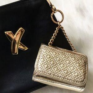 Tory Burch Lil Fleming Leather Bag Charm